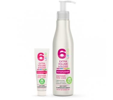 Кондиционер для волос LECO «Дополнительный объем и блеск»
