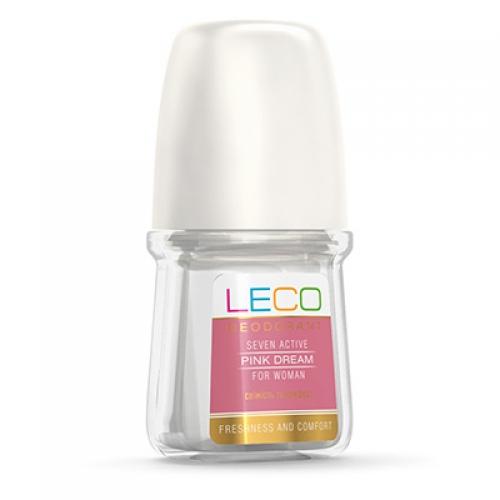 Дезодорант-антиперспирант LECO  Seven Active Pink Dream for women