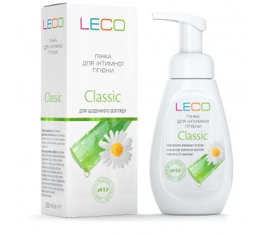 Пенка для интимной гигиены LECO Classic