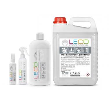 Средство для быстрой дезинфекции LECO