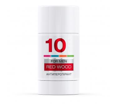 Дезодорант-антиперсперант «LECO» №10 RED WOOD for men