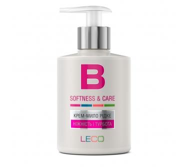 Крем-мыло жидкое LECO «Нежность и забота»